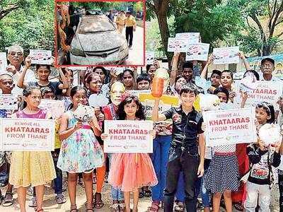 Operation Khataara: Residents pool money, shame Thane civic body over clearing khataaras