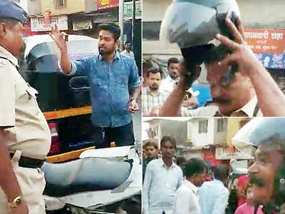 After viral clip, cops get helmet diktat