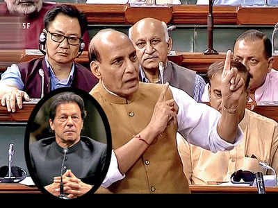 Talks with Pakistan only on PoK: Rajnath