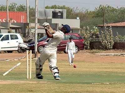 SPCT Cup: Diwan Ballubhai Cricket Club star with a 32-run win against Sports Promotion Charitable Trust