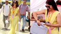 Yellow saree sensation: Reena Dwivedi's journey from a PWD official to a social media star