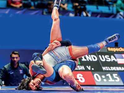 Vinesh Phogat qualifies for Tokyo Olympics after claiming bronze at World Championships