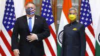 India-US 2+2 talks: Mike Pompeo meets S Jaishankar
