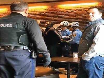 Starbucks CEO Kevin Johnson apologizes for arrests of 2 black men