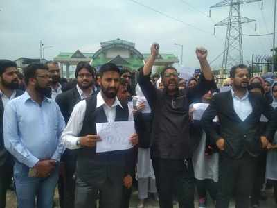Rape of minor in Bandipora district sparks protests across Valley
