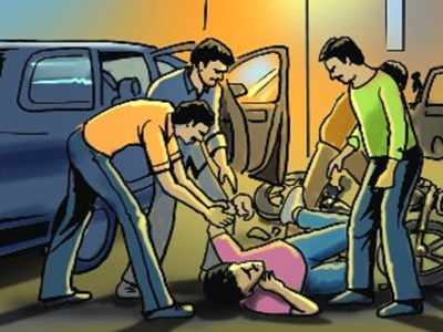Complaint against Surat man for thrashing loan recovery agents