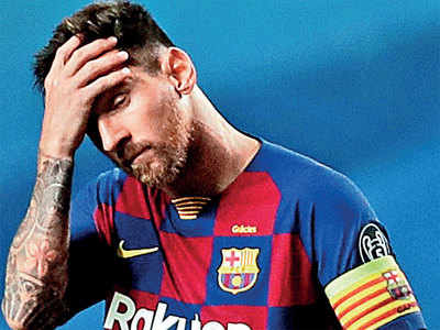 Barcelona set £631mn asking price for Lionel Messi