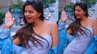 Shah Rukh Khan's daughter Suhana Khan looks uber-chic doing a dance step in her latest viral photograph