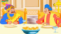 Children Telugu Nursery Story 'Akbar & Birbal Tales' - Kids Nursery Stories In Telugu
