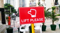 Noida residents begin 'lift please' last-mile connectivity initiative
