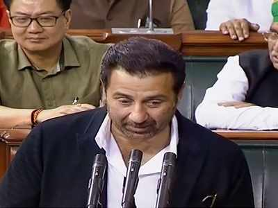 17th Lok Sabha: BJP MP Sunny Deol takes oath, says 'withhold' instead of uphold sovereignty