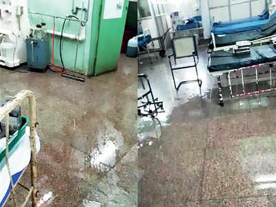 Sion Hospital's dialysis unit floods as water purification tank bursts