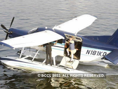 Aerodrome for sea plane shifted to eastern bank of Sabarmati due to underground sewage line