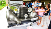 Chennai: Over 140 vintage cars and bikes displayed at heritage auto show