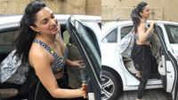 Kiara Advani stuns fans in printed sports bra and tights