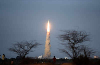ISRO launches PSLV-C38 with 31 satellites onboard