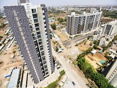 All exit routes are closed for homeowners in these luxe Balewadi apartments