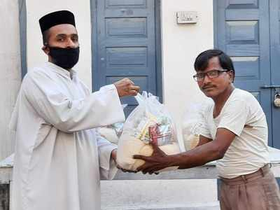 Helping from behind curtains to ensure help reaches the needy