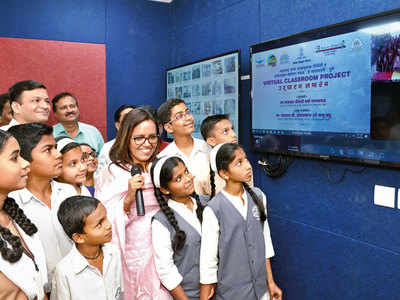 Virtual classrooms, audiobooks launched by Balbharati; TV channel in the pipeline