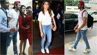 Kartik Aaryan returns to Mumbai, surprisingly twins with Sara Ali Khan in a white t-shirt and ripped denim combo