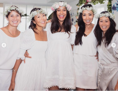 Lisa Haydon gives a sneak peek of her baby shower; see pics