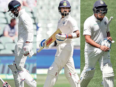 Indian batsmen display reckless performance at Adelaide Oval on Day 1 of Test