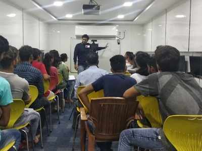 Siddharth College trains students in 'Voice and Accent' for better job prospects