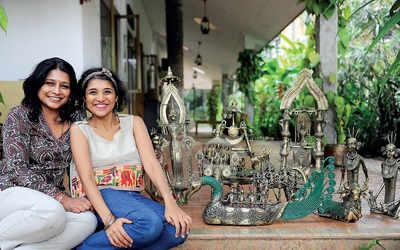 Mother-daughter duo Sandhya K and Nihaarika Sirsi talk about their effort to popularise Dokra tribal art