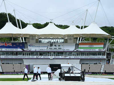 India vs New Zealand WTC Final Highlights: Play on Day 1 call off due to rain, wet outfield