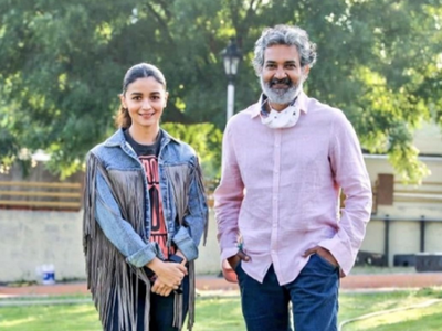 Photos: Alia Bhatt joins SS Rajamouli's RRR shoot in Hyderabad