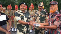 Eid-ul-Adha: BSF exchanges sweets with Border Guards Bangladesh