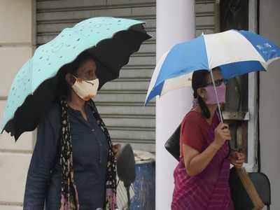 Delhi news: City's maximum temperature settles at 38.8 degrees Celsius; rainfall likely on Sunday
