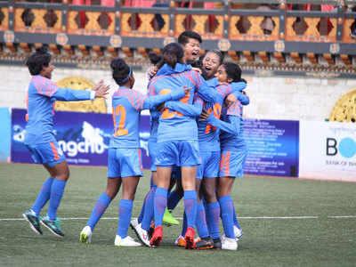 SAFF U15 Women's Championship: India thrash Nepal in opener
