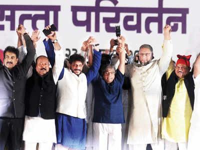 Seat-sharing talks fail, Owaisi's AIMIM announces split with Ambedkar's VBA
