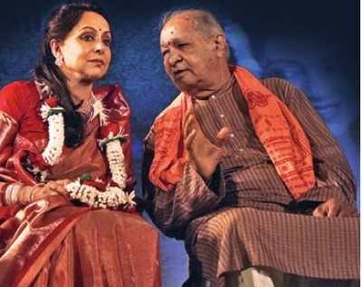 Hema Malini in step with Georgian ballet