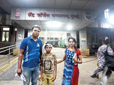Boy suffers minor injury, doctors at St George hospital say they don't have facilities to treat him