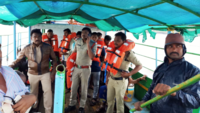 Andhra: Boat carrying over 60 people capsizes in Godavari river, several dead