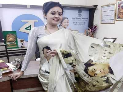 Mamata Sari, NAMO Again t-shirts gain popularity in West Bengal