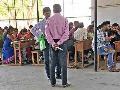 Supervisors and Valsad School staff complicit in mass copying