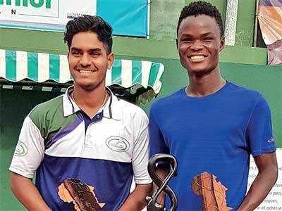 Circuit ITF Junior D'Abidjan: Amdavadi boy Vansh Bhagtani goes down fighting in summit clash, settles with silver