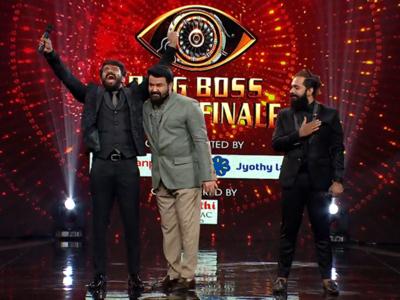 Bigg Boss Malayalam 3 Grand Finale Highlights: Host Mohan Lal bids farewall after winner Manikuttan's emotional speech