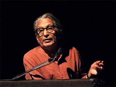 The milestone man: Celebrated architect BV Doshi takes to stage to deliver a lecture