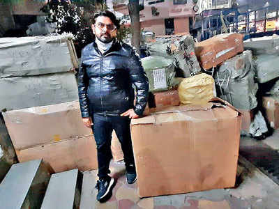 'Ray-Ban' glasses, covers worth Rs 5.7 cr seized
