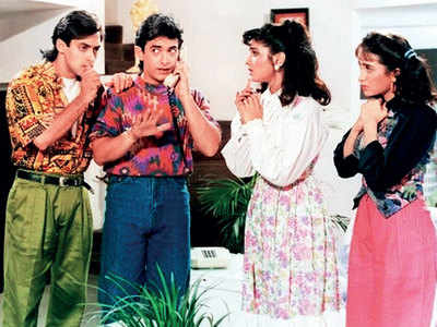This week that year: Andaz Apna Apna again with Aamir Khan, Salman Khan, Karisma Kapoor and Raveena Tandon
