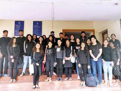 ILS students wear black to condemn Jan 5 JNU violence