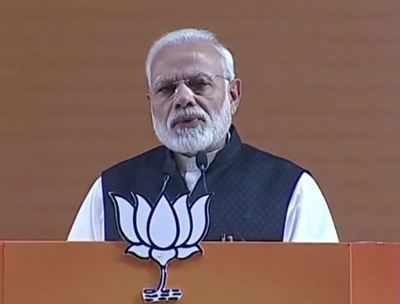 Live updates: PM Modi speaking at BJP national convention