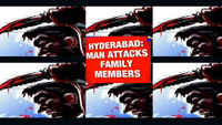 Hyderabad: Man out on bail attacks family members, kills 2