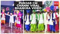 Video of Punjab CM Channi dancing goes viral amidst controversy