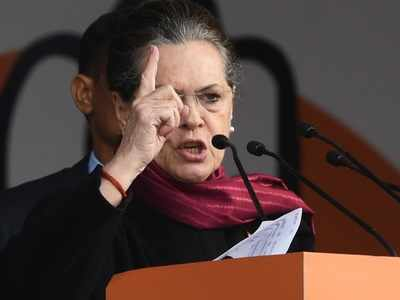 Sonia Gandhi attacks BJP-led government, says Rs 20-lakh crore package a 'cruel joke'