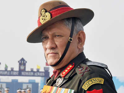 Army chief Bipin Rawat's recent comment on CAA-NRC protests triggers row
